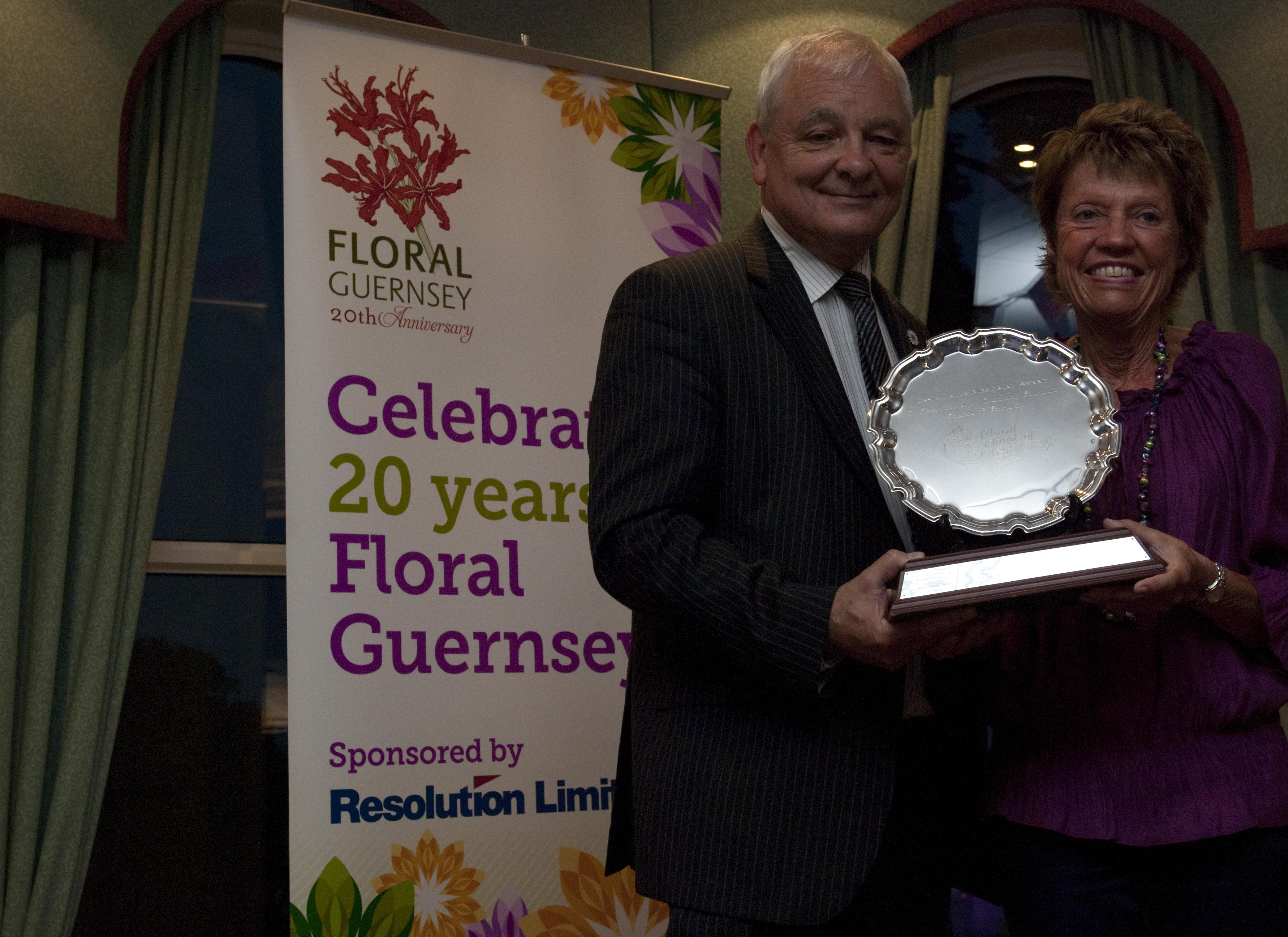 Outstanding Contribution towards a community 2012 - Mary Sebire