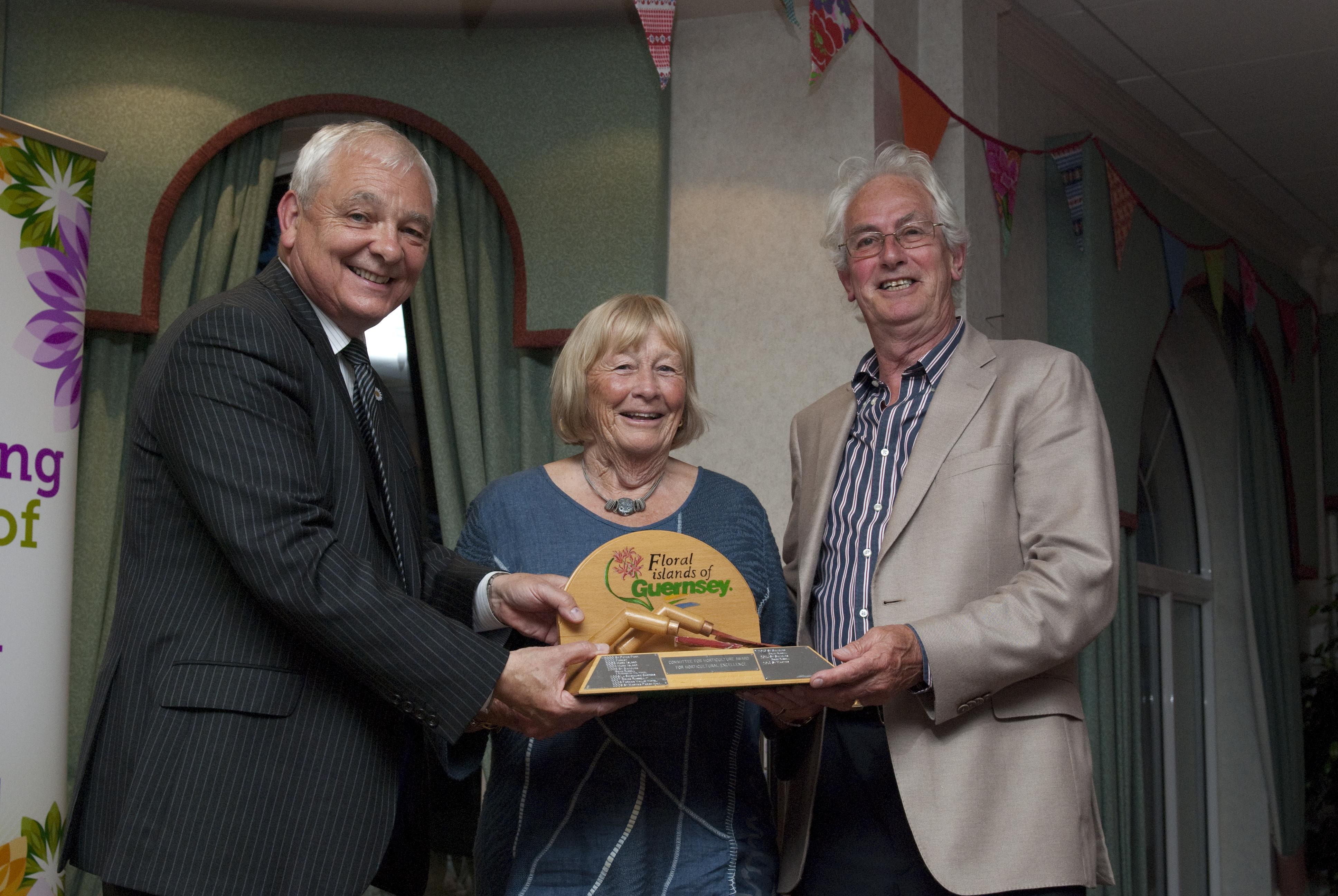 St Martins Horticultural excellence award 2012