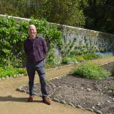 Joe Swift at the Floral Guernsey Spring Festival